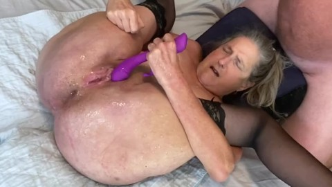Granny squirting