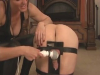 Chastity Slave Milked & Fucked By Mistress