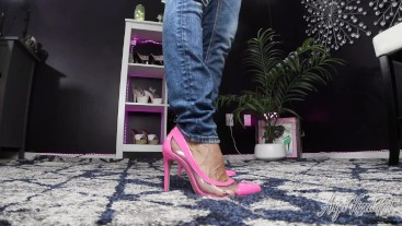 Showing Off My New Heels - Nikki Ashton