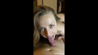 HOT BLONDE FROM TINDER IN A NEW LEAKED SEXTAPE