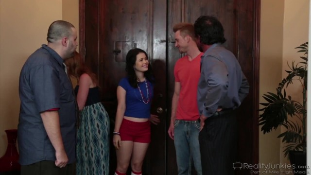 RealityJunkies - Teen Yhivi DPed By Her Step Uncle And Step Bro 16