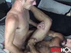 RAWHOLE Brett Bradley Swaps Head and Fucks Latino Daddy