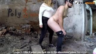 Girl Dominates Guy