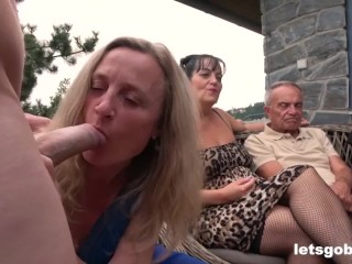 Biggest Fucking Bisex Orgy Part 1 bisexual mmf interracial