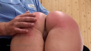Cora's otk spanking 1009
