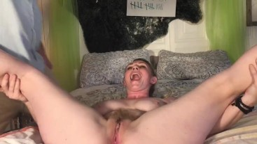 Hairy Wife Squirt A Thon With 69