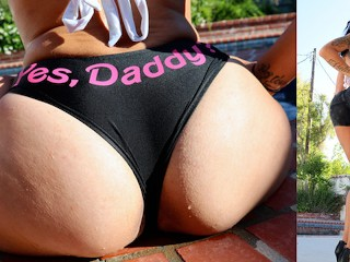 Inked hottie draya dare has one butt loves...