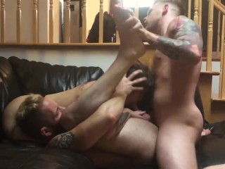 The SEXIEST Bisexual Threesome - Everyone Fucks Everybody