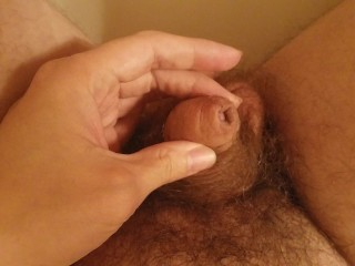 Foreskin Penis Erection (Small Flaccid Dick to Big 7 Inch Cock)