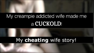My cum addicted wife made me a cuckold and get pregnant! [Roleplay. Story]