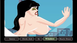 The boss fucks the secretary at lunchtime   cartoon porn games