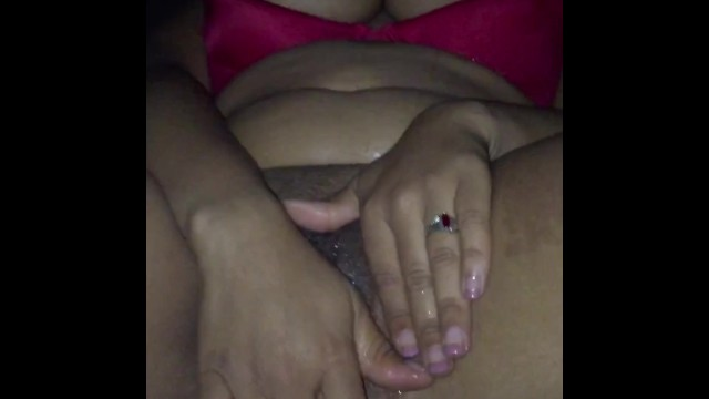 Pussy so wet, looks like I squirted 8