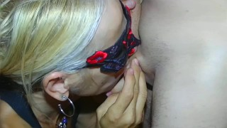 cum kiss from anneeric (first time)