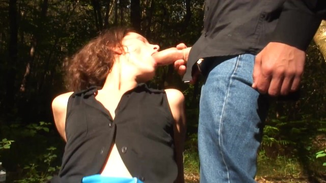 Skinny Horny French MILF Gets Fucked In The Ass By Her Two Step Sons Outdoor 7