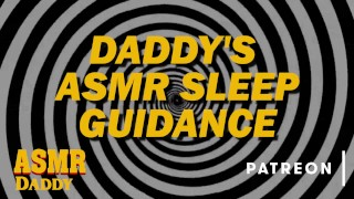 Daddy Bedtime Guidance - ASMR Audio After Care