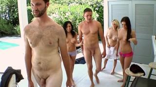 BANGBROS - Angela Attison, Megan Foxx & Kodi Gamble On Fuck Team 5!