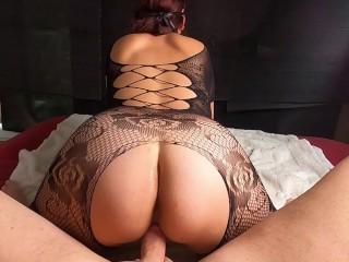 Deep Violette Blowjob Ficken und Anal Orgasmus