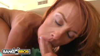 BANGBROS - Busty MILF Janet Mason Loves Big Cock, So We Hooked Her Up!