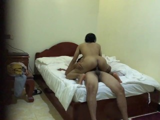 Fucking cambodian girl for free room...