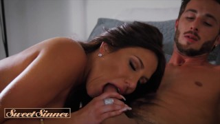 Sweet Sinner - Horny Babe Jaclyn Taylor Takes The Juice Out Of That Big Cock