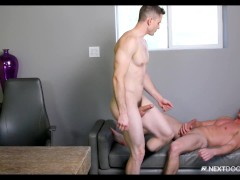 Quin Quire Helps His Boss Finish What His BF Started - NextDoorBuddies