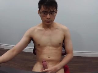 Guy caught on webcam...