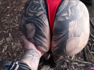 Thick ass big tit lost aussie fingered bush...