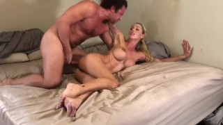 Goregous Hotwife with perfect body gets creampied in front of her husband by complete stranger