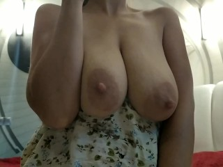 Sexy Milf With Big Natural Tits POV