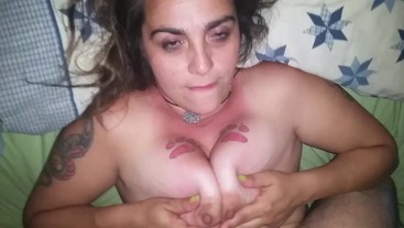 Fuck My Tits and Cum In My Mouth (re-upload w/ adjusted sound/rotated)