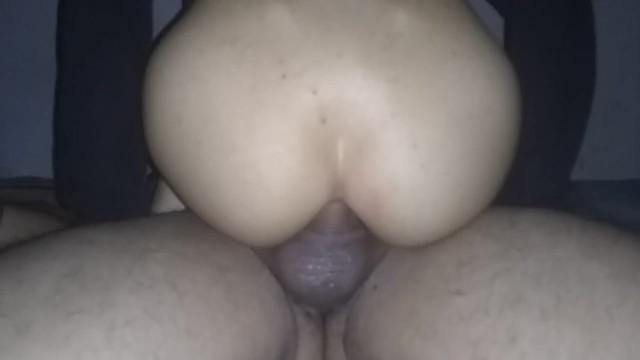 El mejor anal hecho por mi novia venezolana, el mejor anal riding, me saca la leche con su culo 9