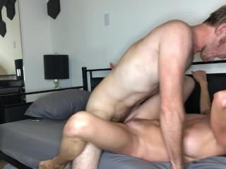 Hot MILF Silvia Saige gets fucked on the bed