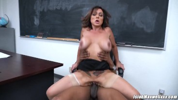 I GOT BACK ON TRACK AT SCHOOL WITH THE HELP OF MY HOT TEACHER AUBREY BLACK