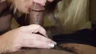 Getting my dick sucked from a friend part 1