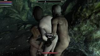 Porno Skarim - PC gameplay