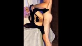 Verified amateur couple MILF blowjob n get fuck deep facial cumshot PsychoFlash666