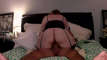 Riding my boyfriend leads to 2 VERY Strong Orgasms