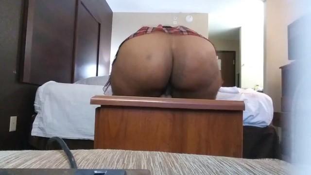 big booty bbw riding dildo