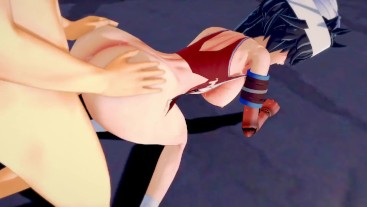 BLEACH: KUKAKU GETS ASSFUCKED (3D Hentai)