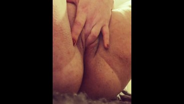 Girl masturbating wet and juicy pussy