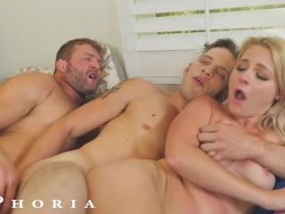 BiPhoria - Pool Boy's Horny GF Initiates Bi Threesome With His Boss free bisexual movies