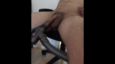 VACUUM CLEANER SUCKING me OFF ** PART 1 **