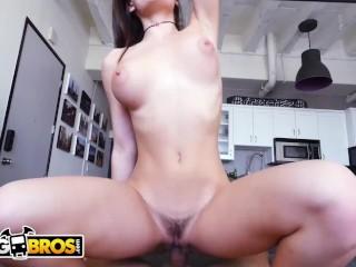 BANGBROS – Big Titty Teen Lana Rhoades Rides Cock Like A Dream