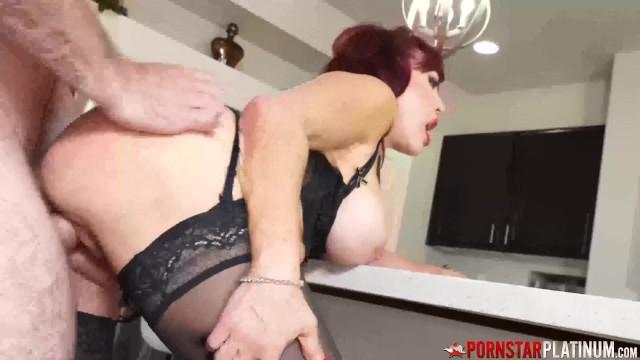 PORNSTARPLATINUM Mature Redhead Sexy Vanessa Hammered by Stud 11