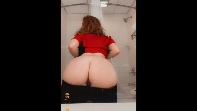 Amateur;Big Ass;Fetish;Red Head;Exclusive;Verified Amateurs;Solo Female kink, butt, redhead, maid, maid-fetish, real-maid, real-hotel-maid, pawg, work, masturbating-work, public-bathroom, hotel, small-tits, amateur, sneaky, risky
