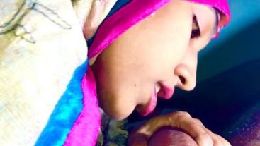 INDIAN MUSLIM Colorful HIJAB blowjob desi teen IMMFUCK