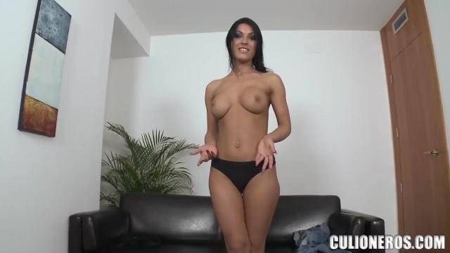 CULIONEROS - Busty Babe Honey Demons Casting Session On Mi Primer Porno 3