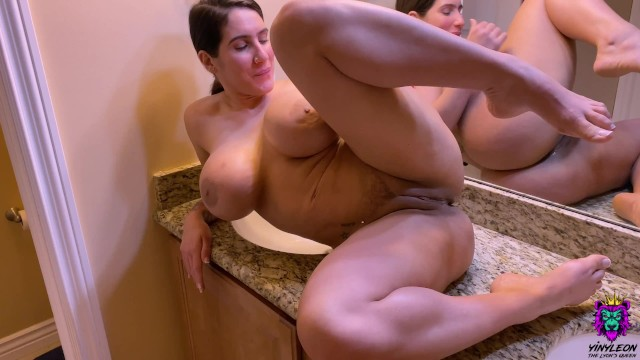Real Amateur Wife wants to know how deep the dick can go inside her Asshole.