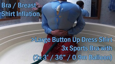 WWM - Popping Button Up Shirt Inflation