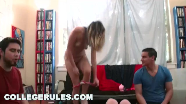 COLLEGE RULES - Spin the Bottle Campus Orgy with Wild Teens